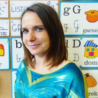 Nauczyciel grupy I - Katarzyna Krzyśko-Marcjan