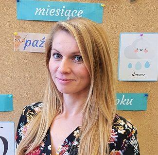 Nauczyciel grupy I - Karolina Machaj