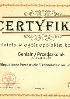 Dyplom za zbiórkę Góra Grosza